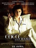 Poster Coco avant Chanel met sigaret