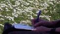 Marja schrijft in dagboek