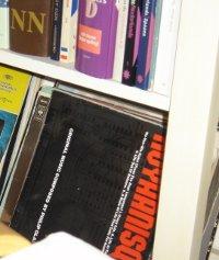 Koyaanisqatsi in Marja's boekenkast