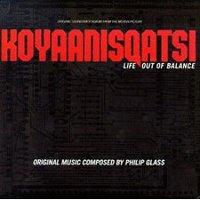 hoes van lp Koyaanisqatsi, Glass
